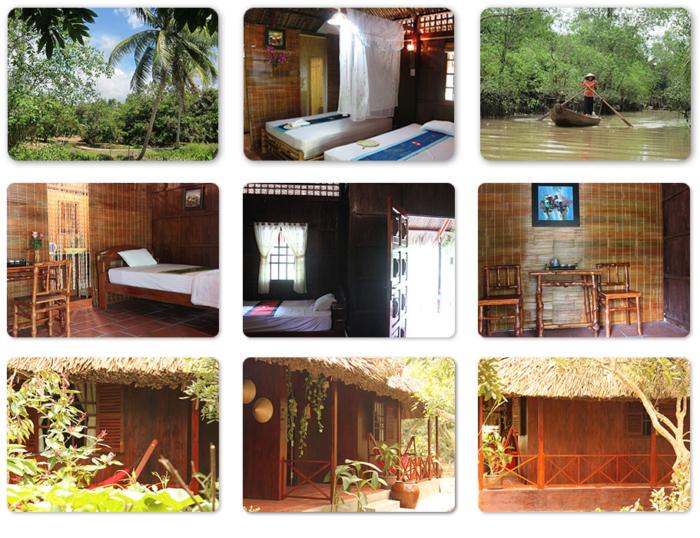 Le cemere al homestay jardine du mekong